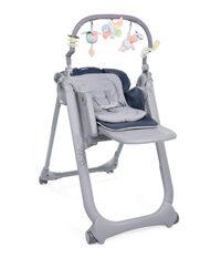 La chaise haute évolutive pour suivre bébé dans sa croissance