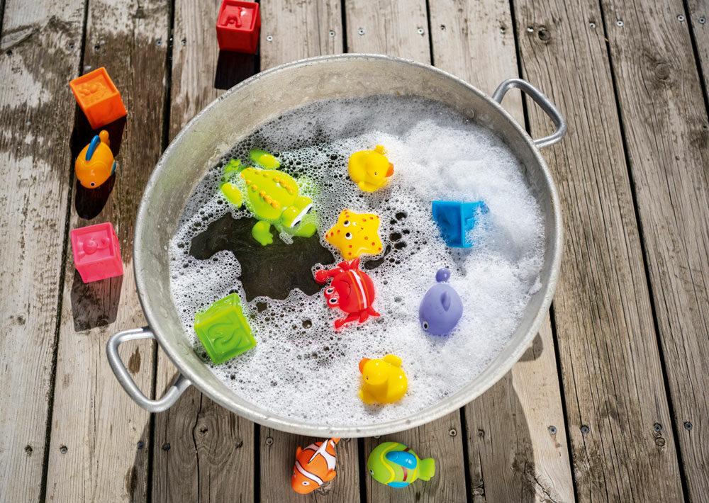 Quels jouets pour le bain choisir ? Aubert vous dit tout !