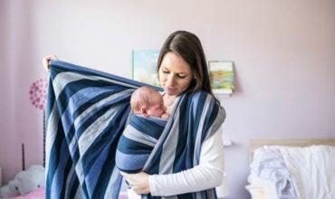 Fonctionnement de l'écharpe de portage pour bébé
