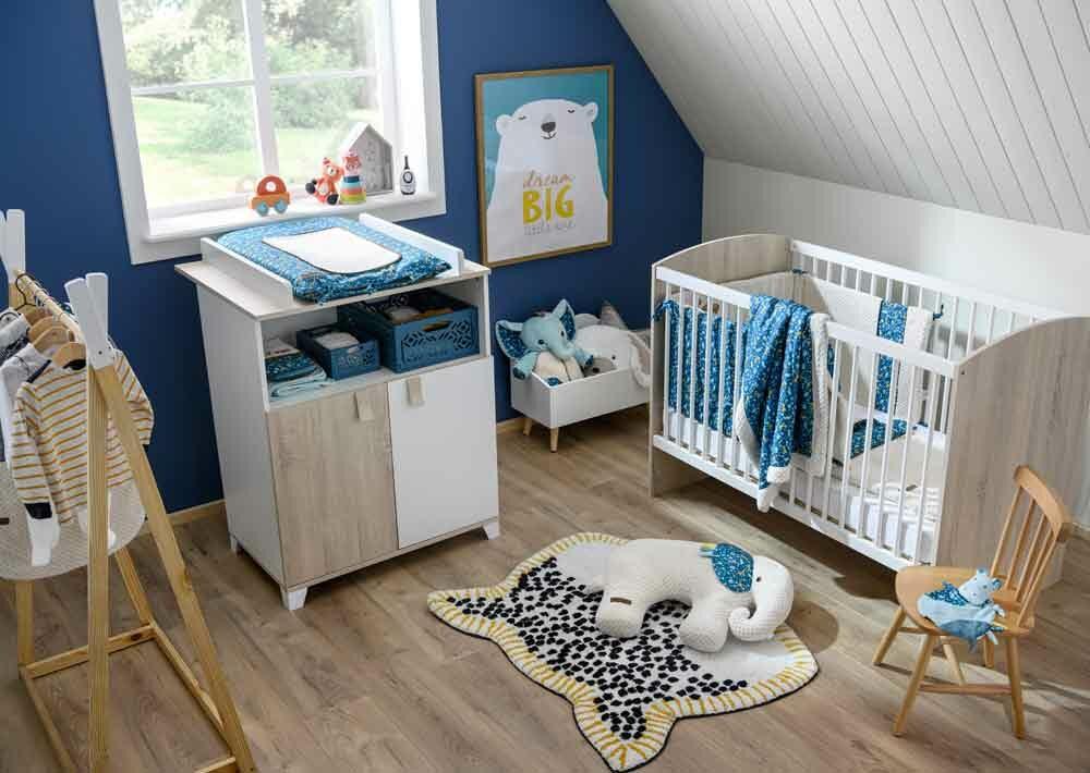 Peinture ou papier pour la chambre de bébé ?