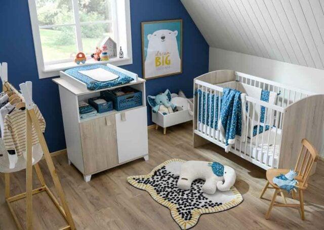 Peinture Ou Papier Peint Pour La Chambre De Bebe Aubert