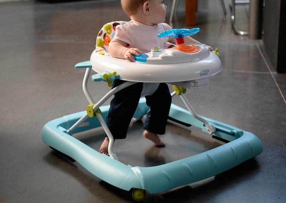 Comment choisir le trotteur de bébé ?