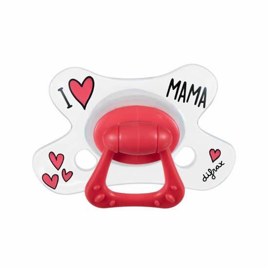 Sucette Natural 18m+ I love papa/mama    de Difrax