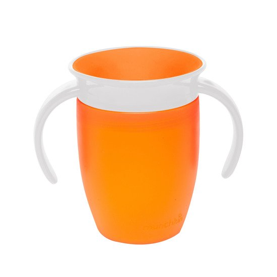 Tasse Miracle® 6 mois et + - 207 ml Orange  de Munchkin