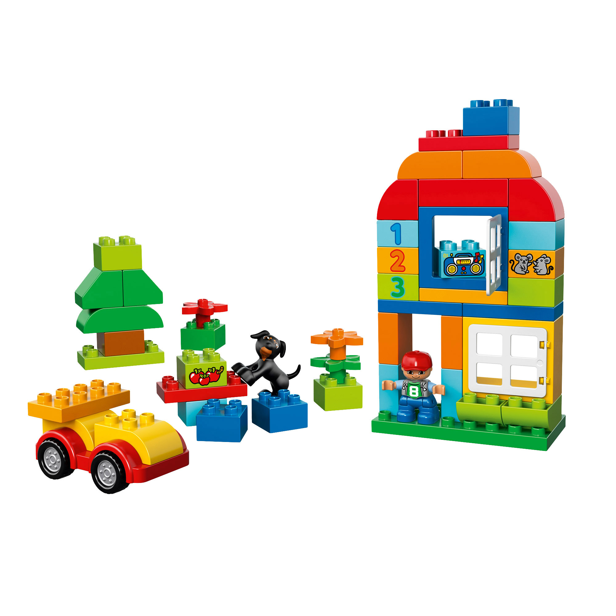 Grande boîte du jardin en fleurs Multicolore de LEGO® DUPLO ...