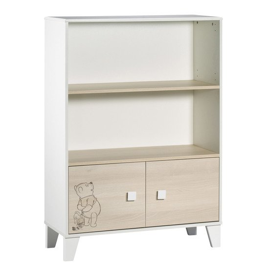 Winnie l'Ourson bibliothèque Beige / Blanc  de Sauthon Baby's Sweet Home