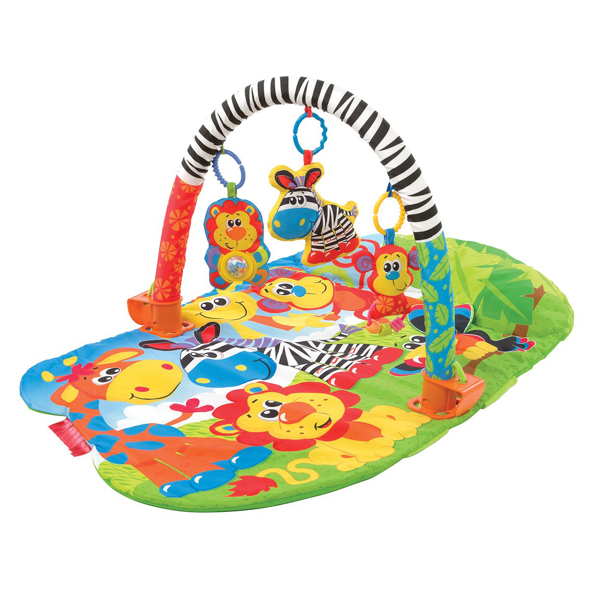 Tapis de gym safari 3 fonctions   de Playgro