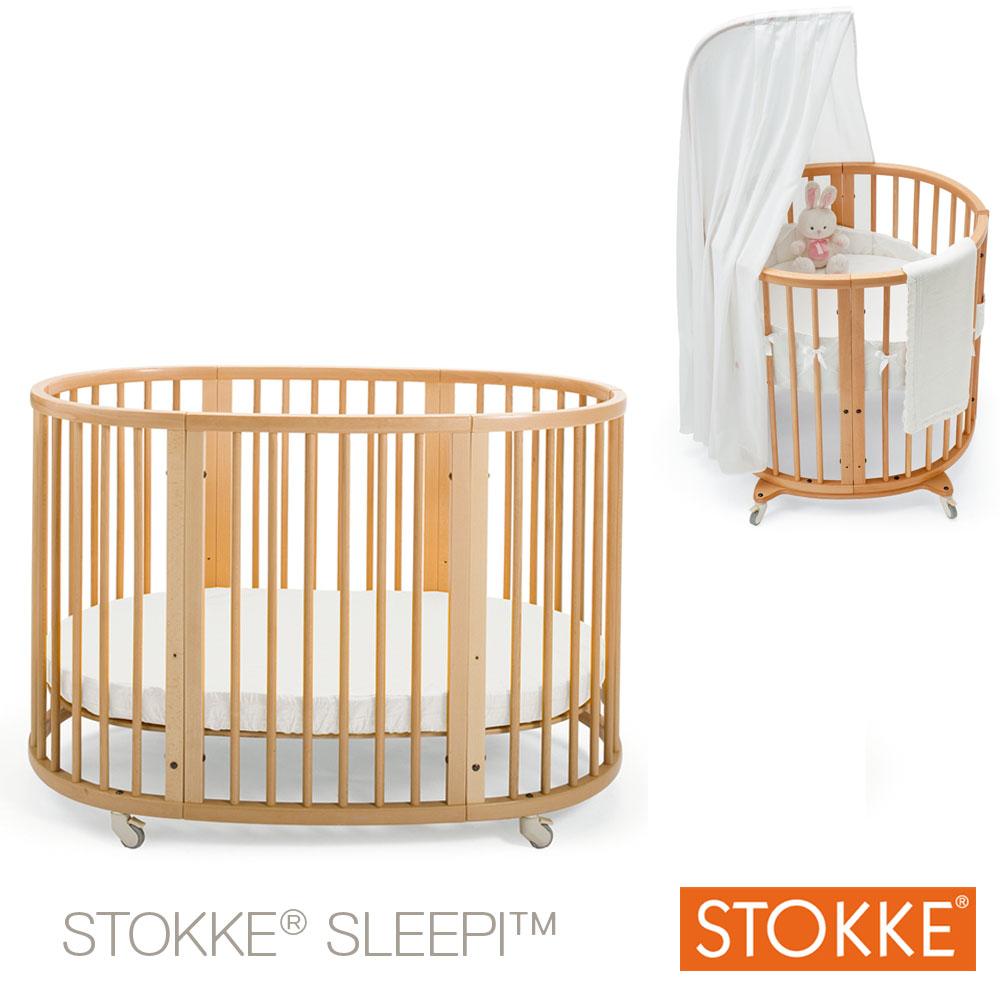Extension de lit 120 pour berceau Sleepi™ Mini Blanc  de Stokke®