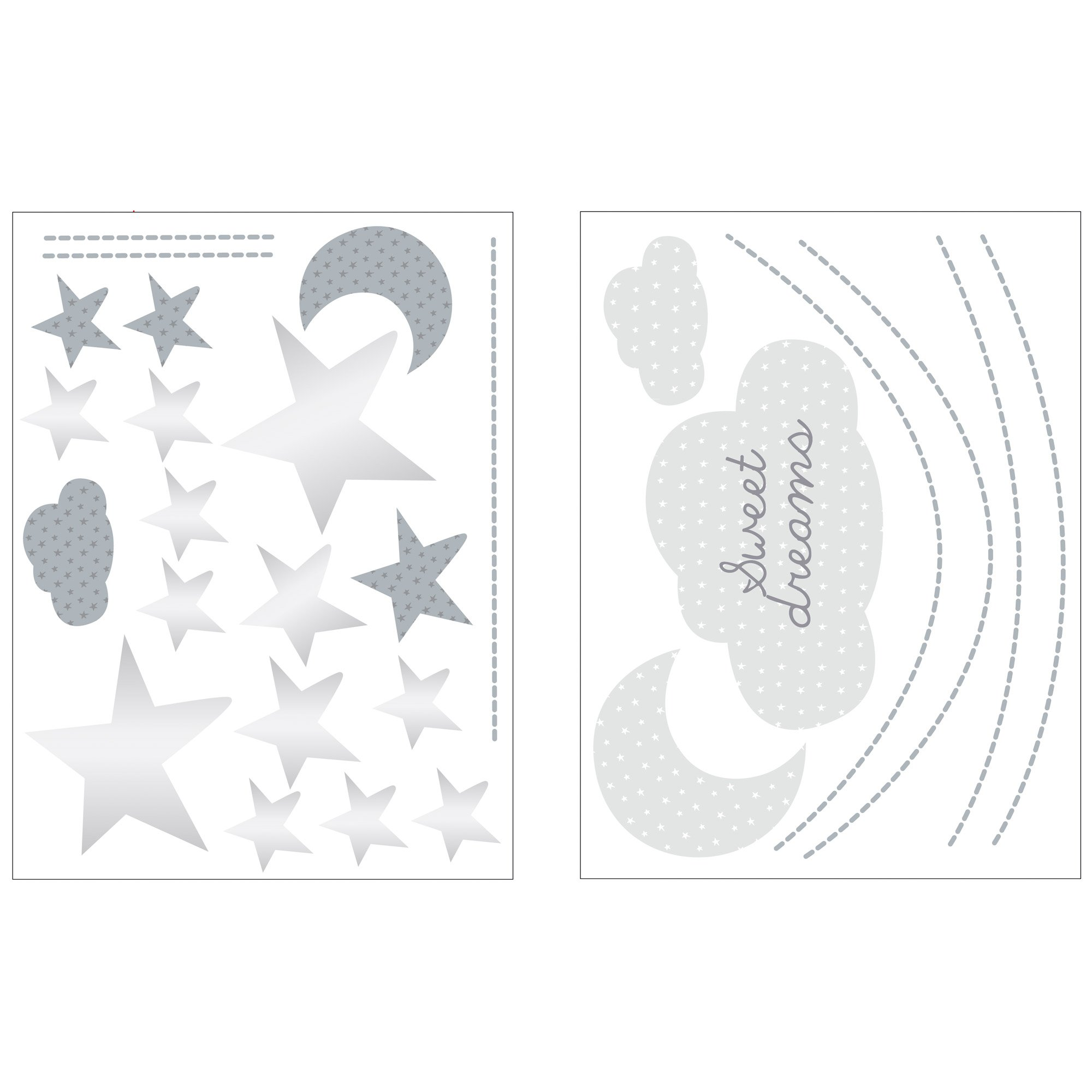 ... Céleste Stickers Muraux Nuage 60x80 ...