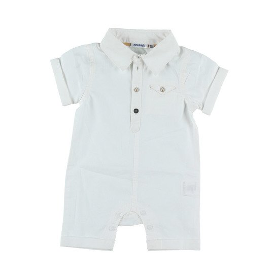 Combinaison collection Smart Boy Blanc  de Noukies