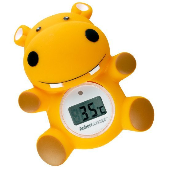 Thermomètre de bain Hippo Orange  de Aubert concept