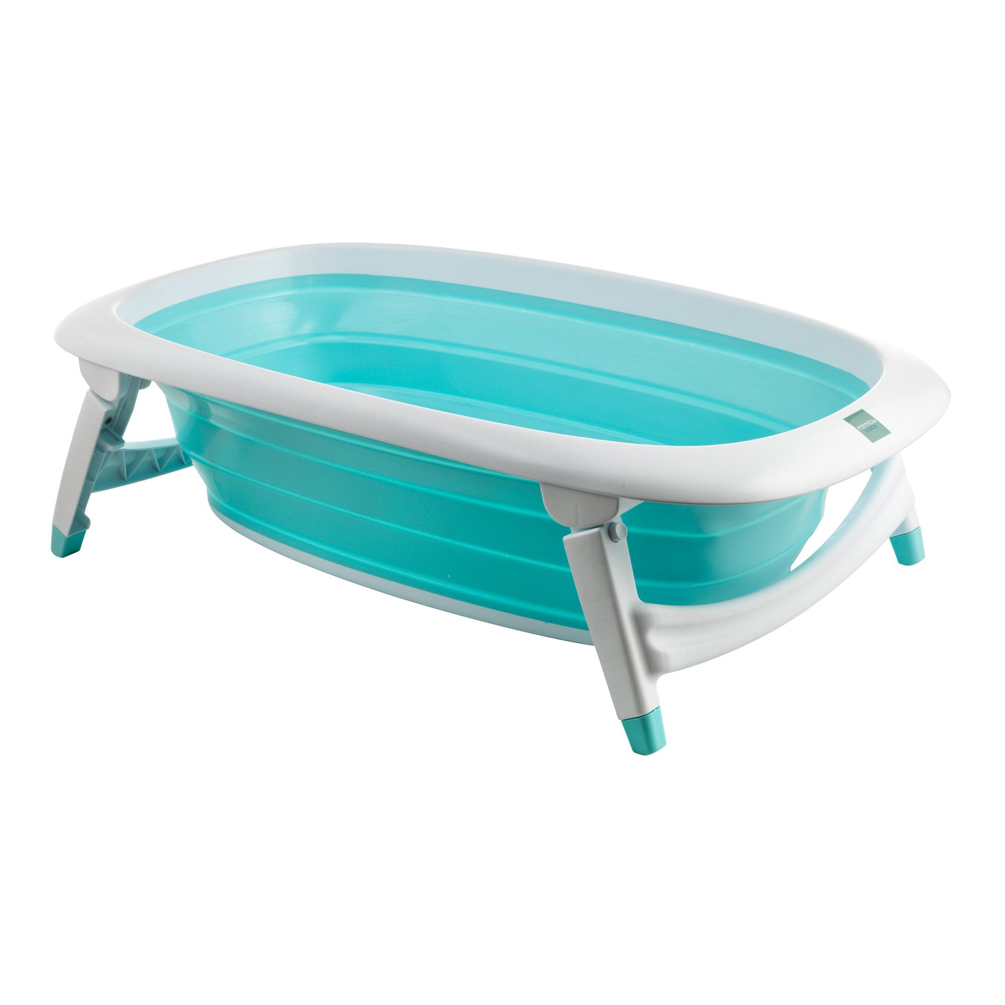 Baignoire pliante bleu de formula baby baignoires aubert - Carrefour baignoire bebe ...
