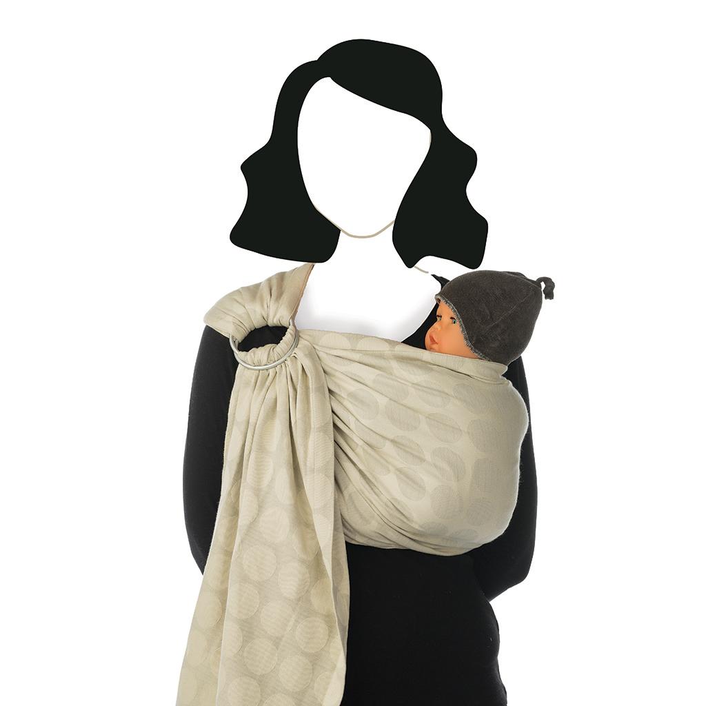 7d011d60bb00 Porte bébé BB Sling Almondine de Babylonia, Écharpes de portage   Aubert