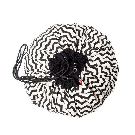 Sac de rangement Play & Go Zigzag black  de Play & Go