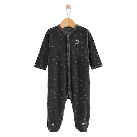 Pyjama Royal Baby Grey Carbone  de P'tit bisou