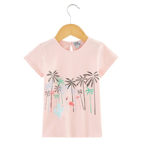 T-shirt collection California Dreamin Fille Rose  de Nano & nanette