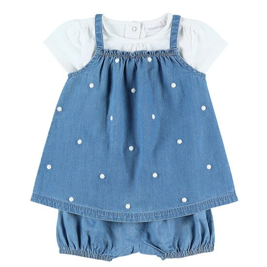 Robe denim collection Bord de mer été 2019 Fille