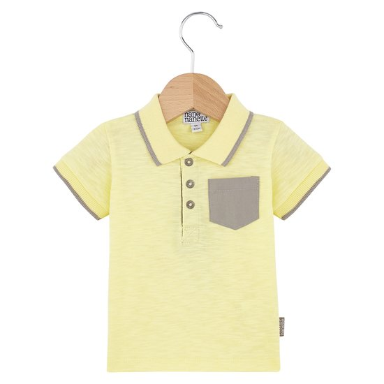 Polo collection Sunny Paradise Garçon Jaune  de Nano & nanette