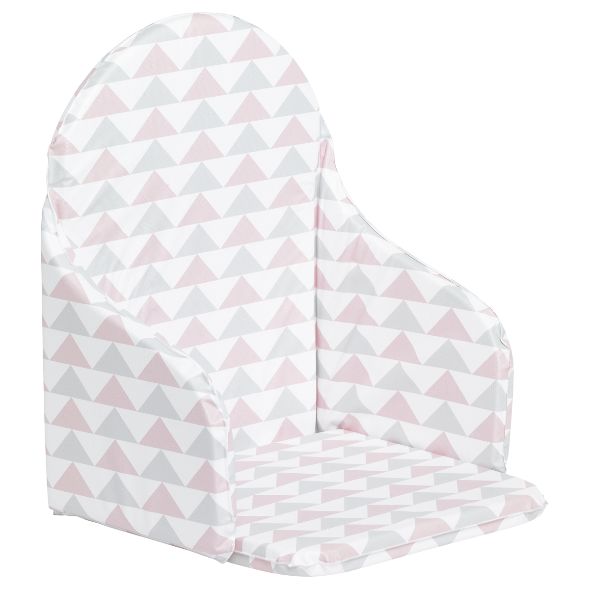 Coussin de chaise PVC sans sangle Rose  de Babycalin