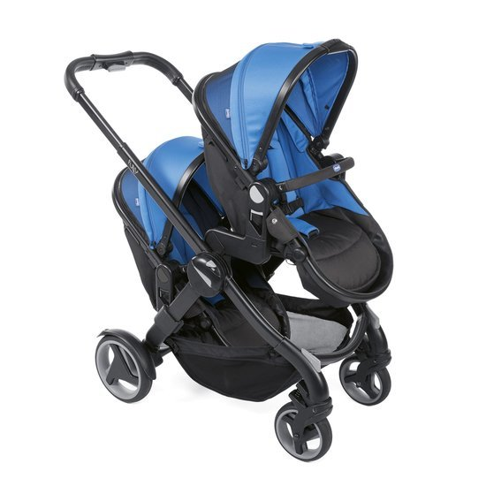 Poussette double Fully Power Blue  de Chicco