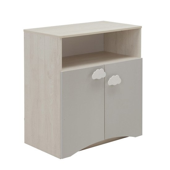Gabin commode 2 portes Gris  de Galipette
