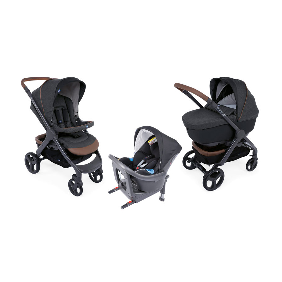 Trio StyleGo Up i-Size Bebecare  Graphite  de Chicco