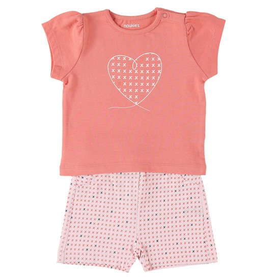 Ensemble short + t-shirt collection Cocon Fille été