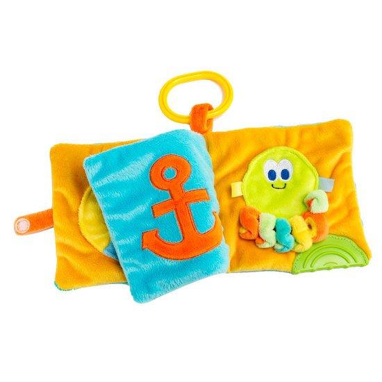 Sous L Ocean Livre D Eveil Orange Bleu