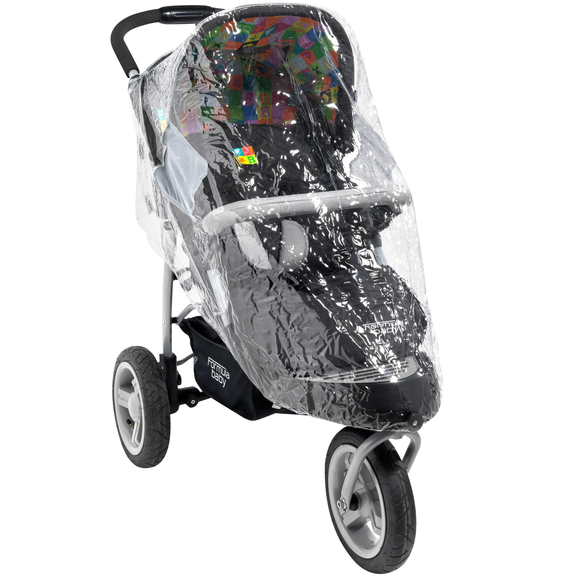 Habillage pluie pour poussette 3 roues de Aubert concept