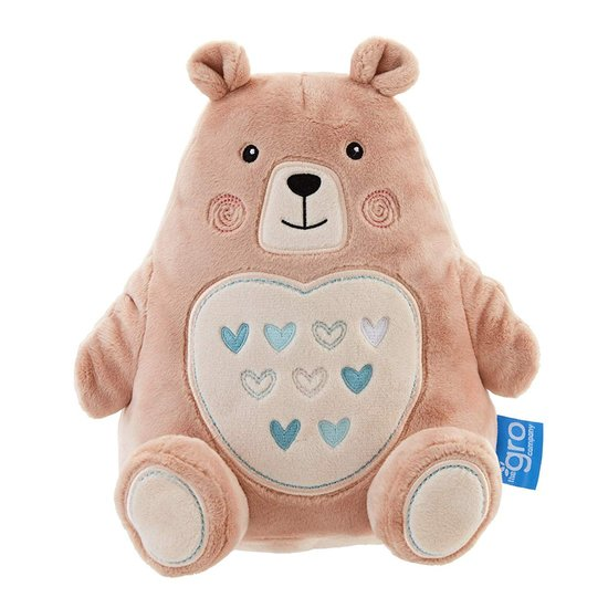 Peluche Veilleuse Bruits Blancs Bennie l'ourson  de Gro