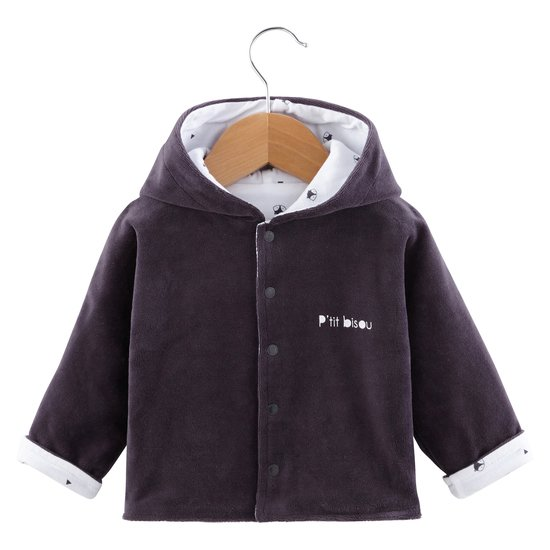 Veste réversible collection Little Fox