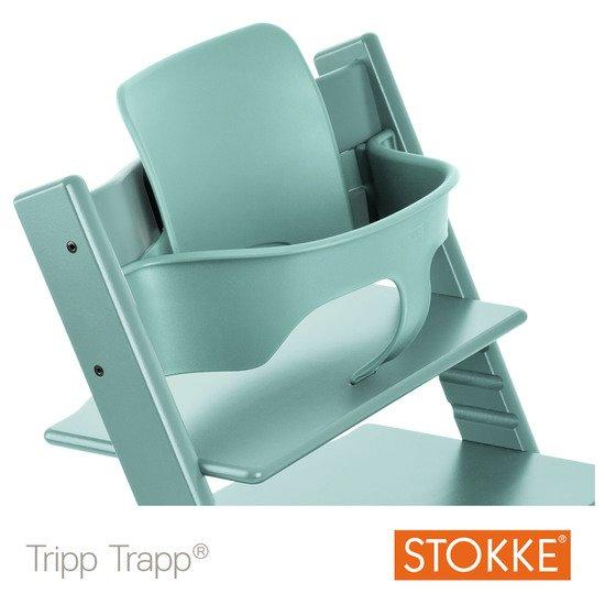 Baby Set Tripp Trapp Patin Bleu Aqua De Stokke Chaises Hautes