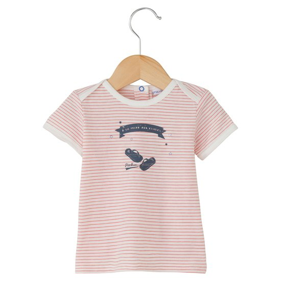 T-shirt rayé collection Little Navy