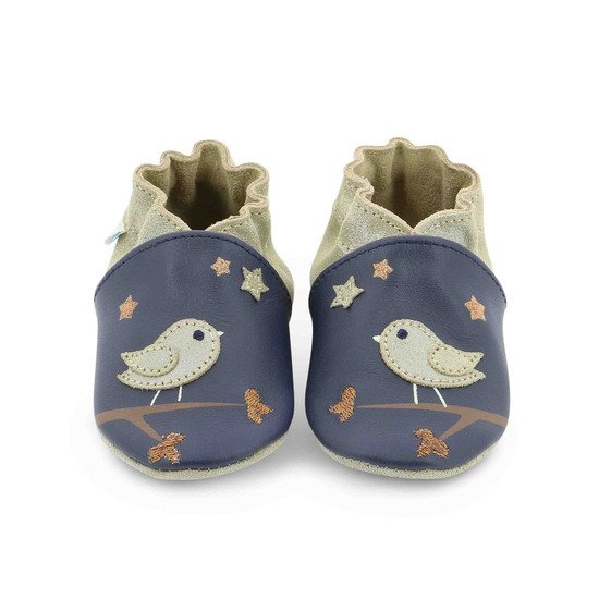 Chaussons night birds Bleu  de Robeez