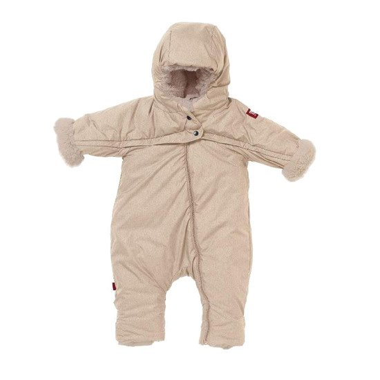 Combi T-zip Tendresse Beige chiné 6-12 mois de Red Castle