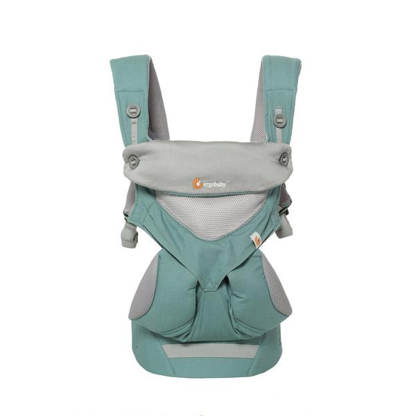 Porte bébé 360 4 positions Cool air menthe de Ergobaby, Porte bébé ... 1a8490a8f9a