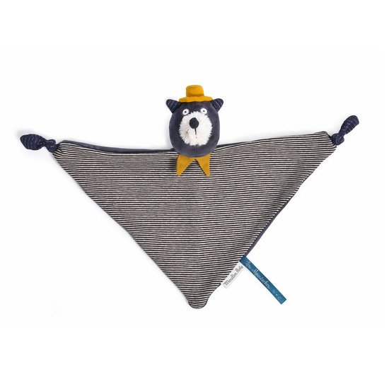 Les Moustaches doudou chat  Alphonse   de Moulin Roty