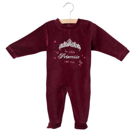 d41e2a53216bb Pyjama princesse Cassis Rose 24 mois de P tit Bisou Trousseau ...