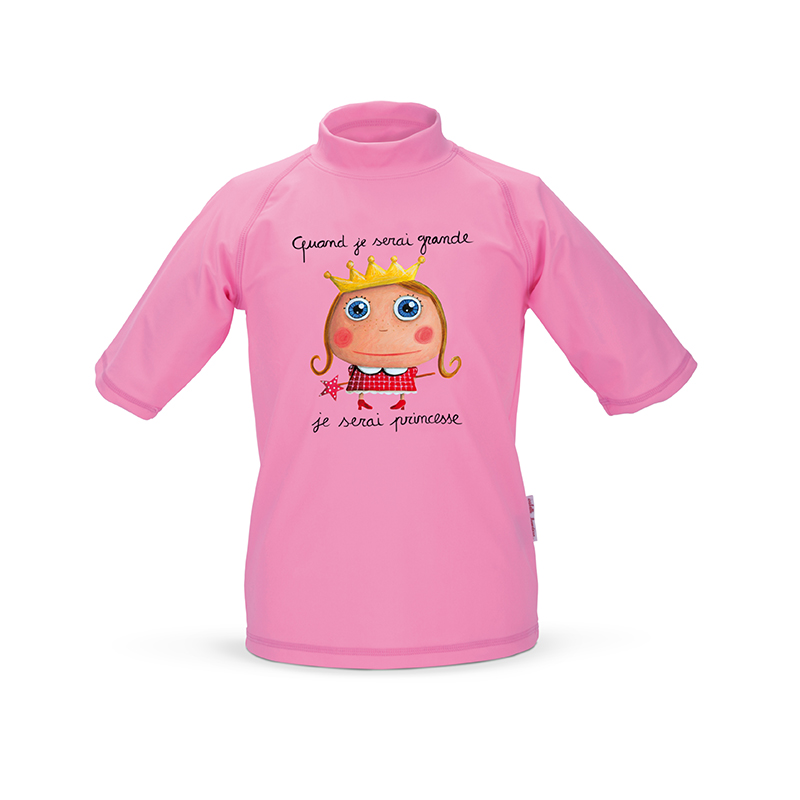 T-shirt anti-UV Princesse 2-3 ans de Label Tour