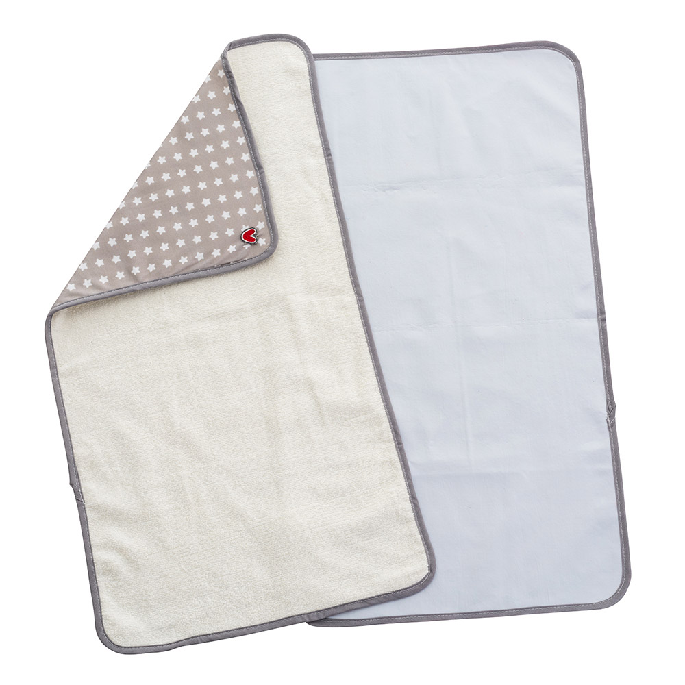 Set de 2 serviettes à langer Pink heart  de Babytolove