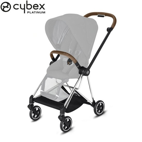 MIOS châssis Chrome simili marron  de Cybex