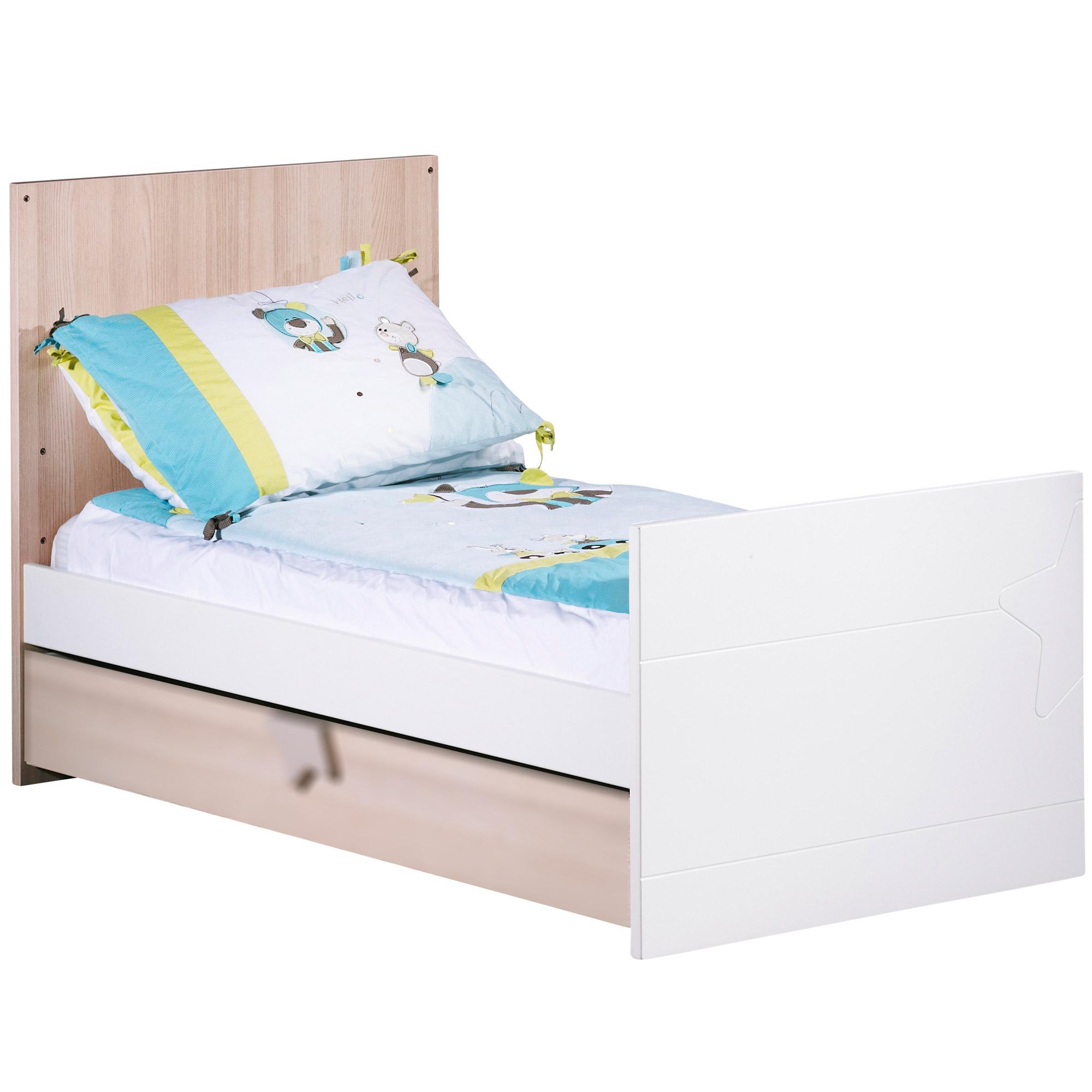 Norway lit 70x140 Chêne  de Sauthon Baby's Sweet Home