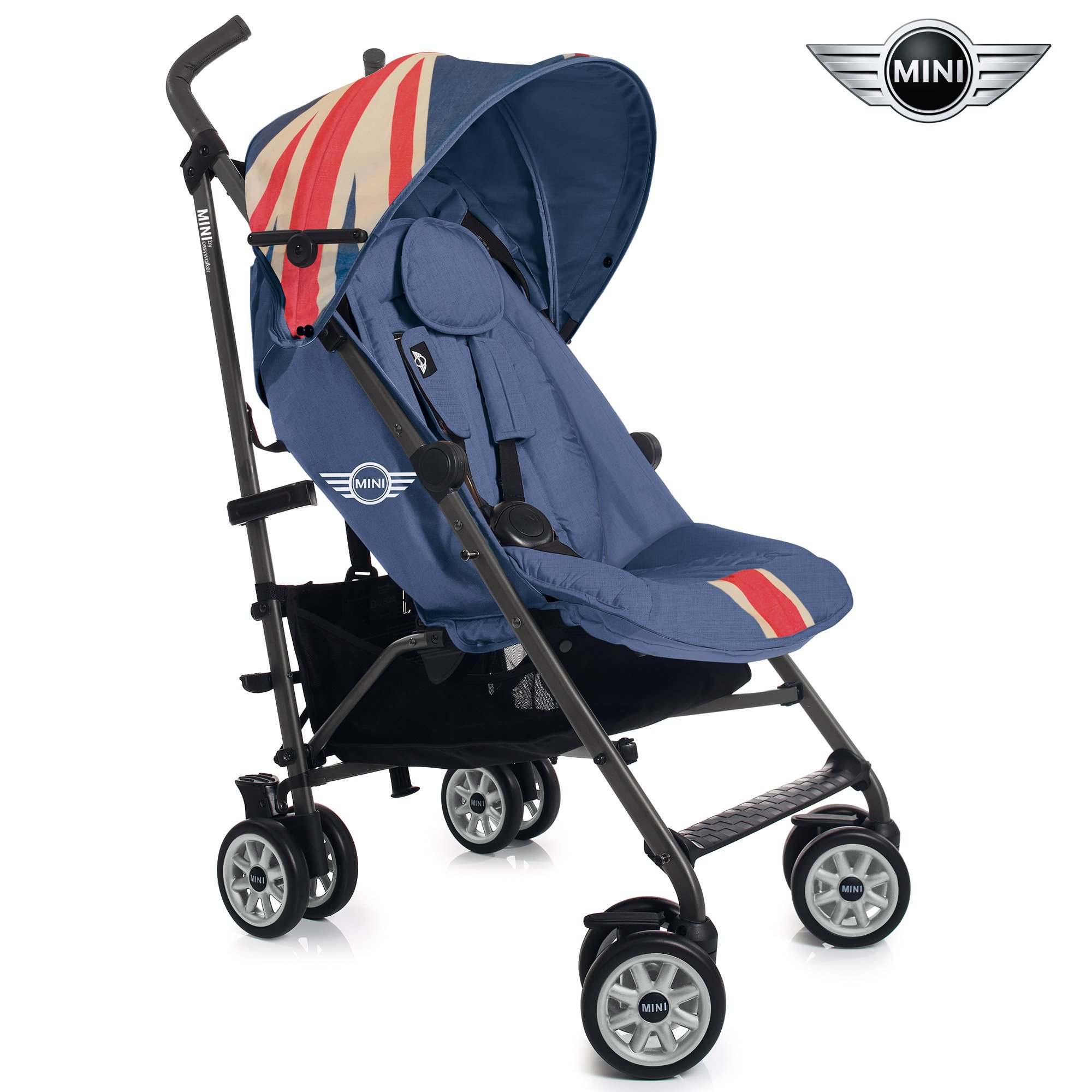MINI Buggy Union Jack Vintage  de Easywalker