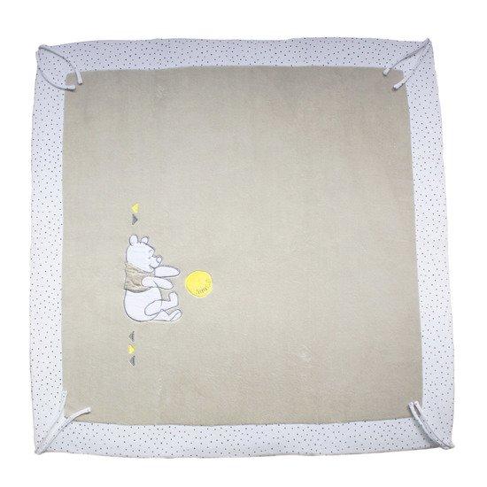 Amilian Tapis de parc en coton pour parc 100 x 100 cm