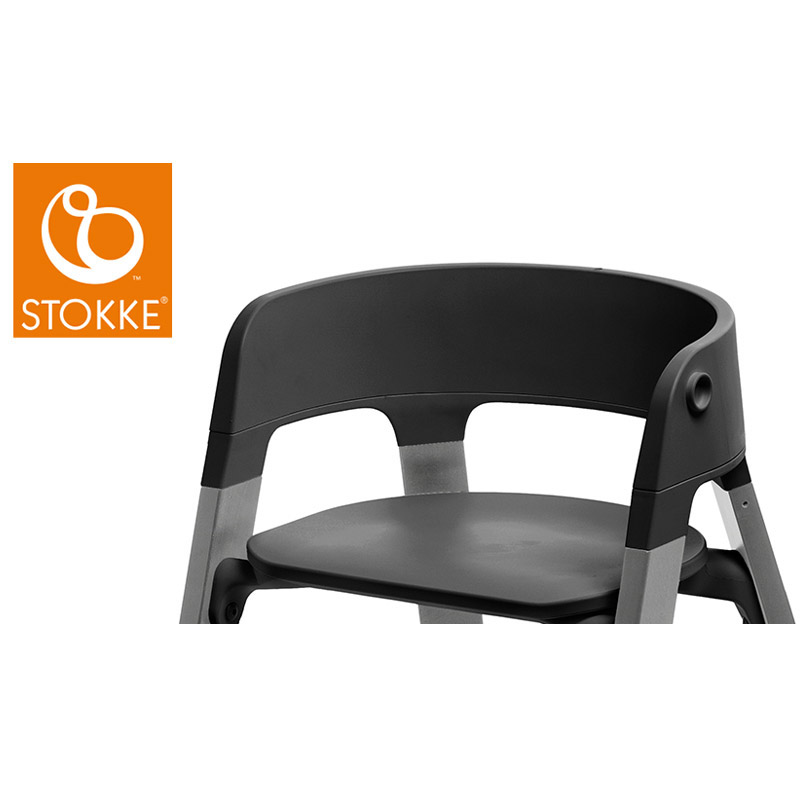 Steps™ assise chaise Noir  de Stokke®