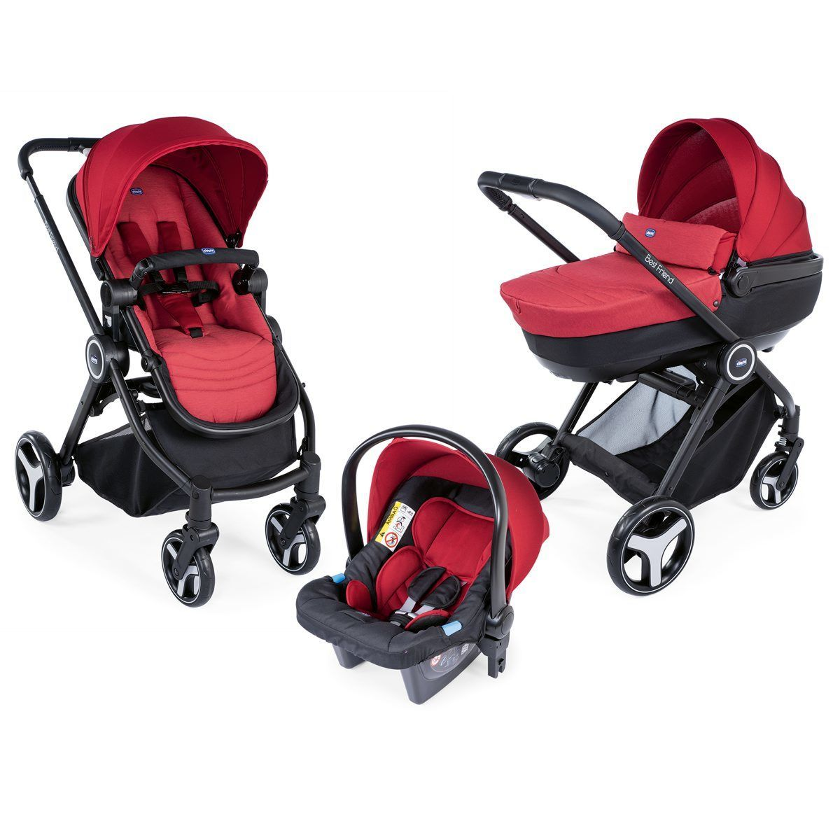 Trio Best Friend Comfort Red  de Chicco