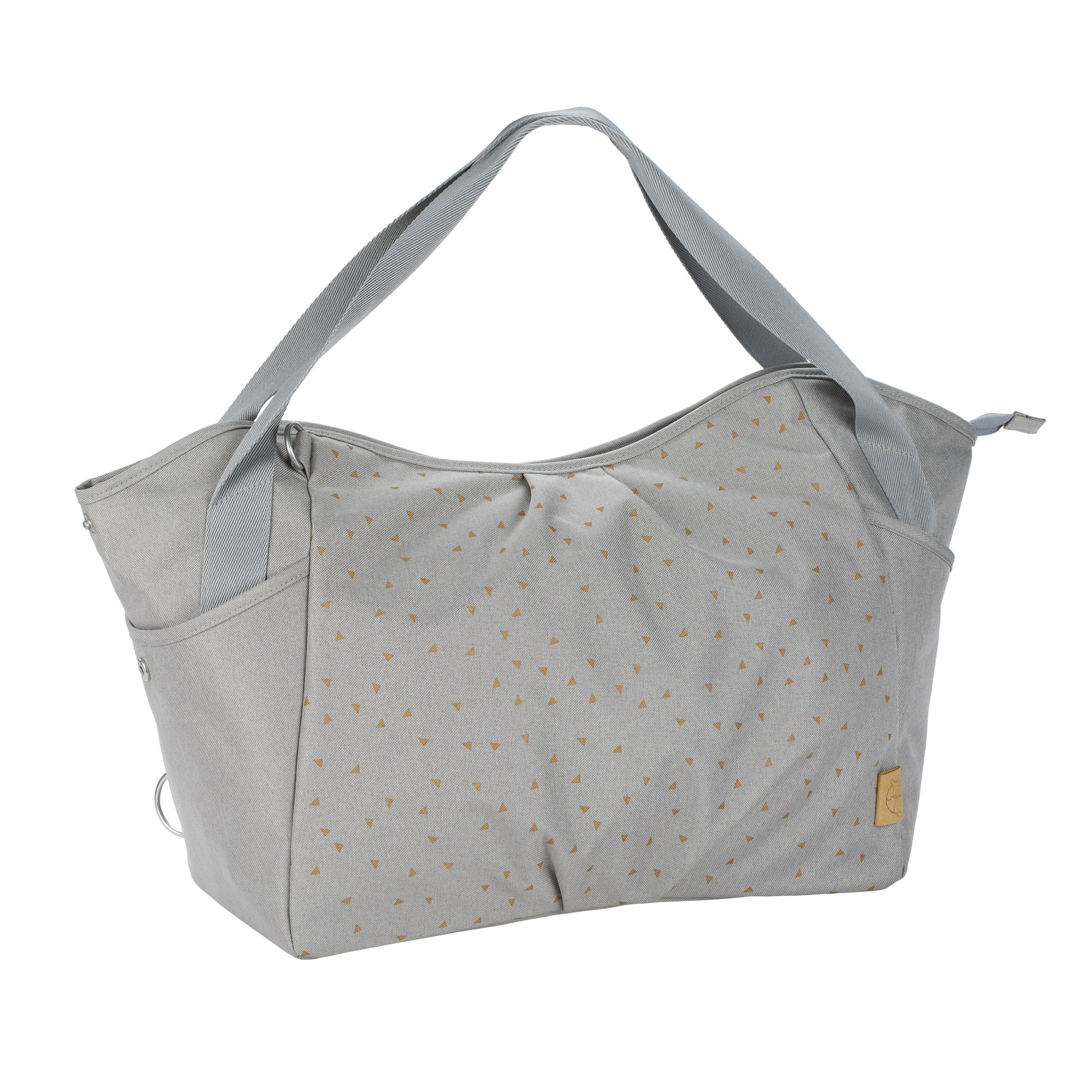 Sac casual Twin Triangle Gris Clair  de Lässig