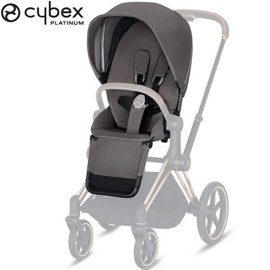 e-Priam pack siège Manhattan Grey/Mid Grey  de Cybex