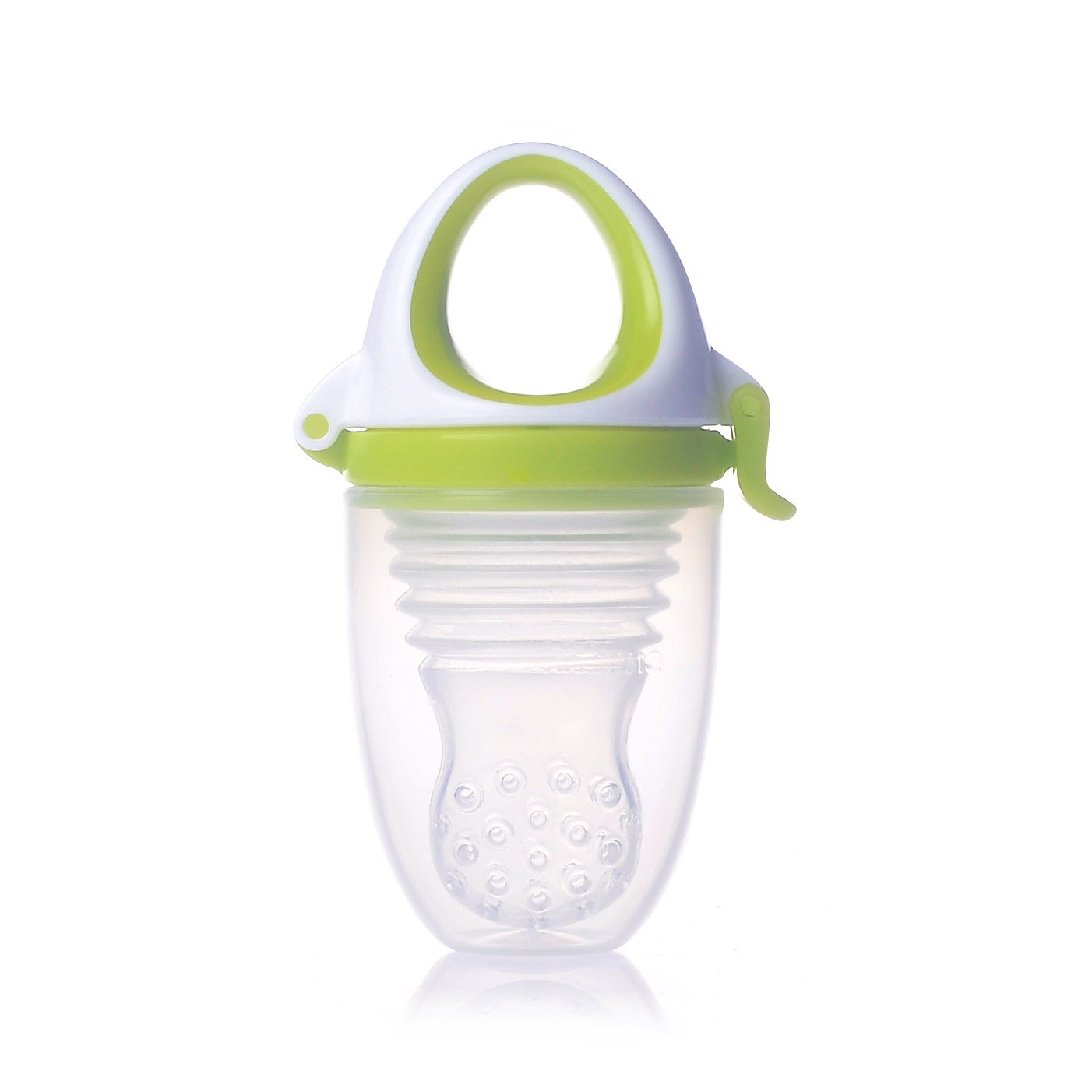 Tétine Food Feeder Plus Lime 6 mois de Kidsme