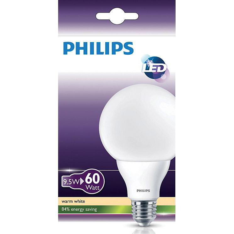 Ampoule LED globe 9.5W - 60W   de Philips